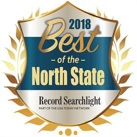 Rob Hammonds was voted Best of the North State for 2018.